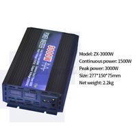 3000W Pure Sine Wave Power Inverter DC 12V To 110V AC 60HZ Convert U