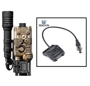 WADSN ModButton Offset Rail Mount Pressure Switch for Surefire Flashlight - BK