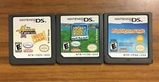 3 Nintendo DS Games Hannah Montana High School Musical 2  Playground Games Only