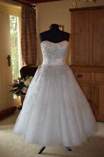 Justin Alexander Crystal/Diamante Lace Wedding Dresses