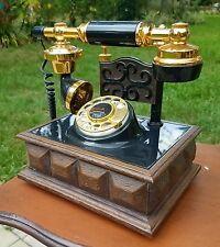 Telephone desk rotary Vintage Deco-Tel Western Electric French Regency vintage