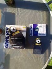 Nintendo Gameboy Camera Yellow Boxed