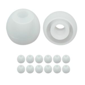 6 pr. extra small replacement earbud tips, earphone ear tips, earbuds tips