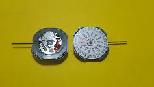hands day date disk at 3 new hattori,timex japan quartz movement no Vj 43B 3