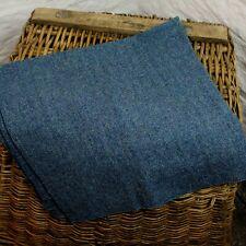 100cm x 88cm 100% Wool British Made Tweed Fent Fabric Remnant Cloth *Not Harris