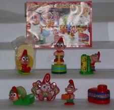 Die Weihnachtswichtel, Ü-Ei  Komplettsatz, alle BPZ, 2005