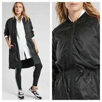 NWT ATHLETA Summit Primaloft Shell Jacket Womens Medium Black