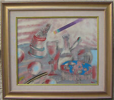 Oded Feingersh oil exquisite work Jewish Israeli reached over $5000.00