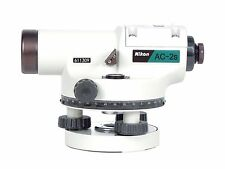 Nikon AC-2S Automatic Auto Level 24x Optical Transit Survey Mag Dampen Autolevel