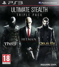 Ultimate Sigilo-Triple Pack ~ PS3 (Hitman/Ladrón/Deus Ex)