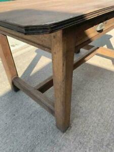 Antique French Oak kitchen table/desk