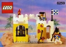 LEGO BROADSIDE'S BRIG 6259 Set Classic Pirates 3x minifigs imperial soldiers