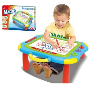 Kids 2 in 1 Magic Magnetic Drawing Board Easel Educational Toy