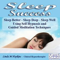 Sleep CD Sleep Success Self Hypnosis / Guided Meditation CD For Insomnia etc.