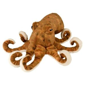 "Wild Republic Mini Cuddlekins Octopus 8"" Soft Plush Toy"