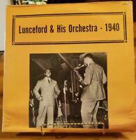 JIMMIE LUNCEFORD & HIS ORCHESTRA - 1940 LP SEALED vinyl LP