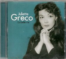 CD ALBUM 11 TITRES--JULIETTE GRECO--LA BELLE VIE