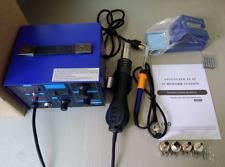 US 862D+ SMD Soldering Iron Hot Air Rework Station Hot Air Gun Digital Display