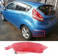 Per Ford Fiesta 2008-2012 Paraurti Posteriore Rosso Riflettore Luce SX E / S
