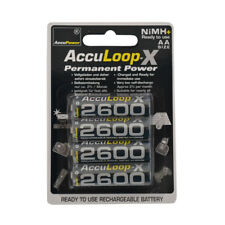 AccuPower AA NiMH AccuLoop AL2600-4 Rechargeable Batteries Precharged 4 pack