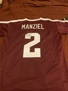 Johnny Manziel Signed Jersey Texas A&M JSA cert
