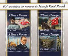 Field Marshal MUSTAFA KEMAL ATATÜRK Turkey President/WWI Gallipoli Stamp Sheet