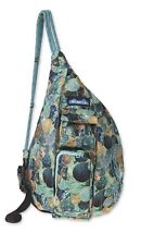 NWT KAVU Mini Rope Sling Bag Crossbody Shoulder Polyester Backpack Sea Glitter