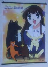 SCARCE FRUITS BASKETS ANIME POSTER TAPESTRY 2001 NATSUKI TAKAYA 31 X 43 1/2 INCH