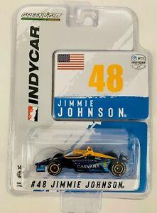 1:64 2021 Greenlight Jimmie Johnson #48 Carvana Chip Ganassi Racing IndyCar