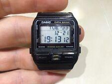 Vintage men's Casio Phone Dialer DBA-80 Quartz watch Japan M Data Bank