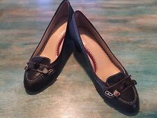 Johnston & Murphy Women's Size 7.5 M Brown Leather Heels NICE!!