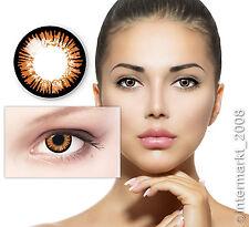 Farbige Crazy Fun Karneval Halloween Kontaktlinsen Contact lenses - TWILIGHT