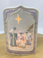Armchair Shopper Three Wise Men Christmas Nite Lite Electric Night Light Tested