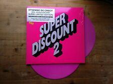 Etienne De Crecy Super Discount 2 NM 2 x PINK Vinyl Record 20th Anniversary Ed