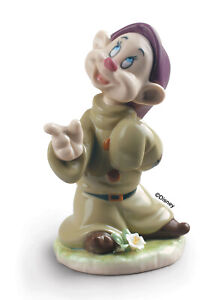 LLADRO DOPEY BRAND NEW IN BOX #9324 DISNEY COLOR FLOWER SAVE$$