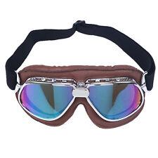 Motorradbrille Vintage Retro Schutzbrillen Brillen Protection Skibrille brille