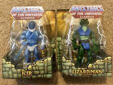 Masters of the Universe Motu Classics - Lizard Man / Icer Motuc New