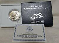 2008 S Bald Eagle Commemorative Clad Half Dollar Uncirculated 50c Coin EA6