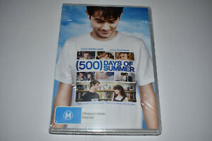 500 Days of Summer - Brand New & Sealed - Region 4 - DVD