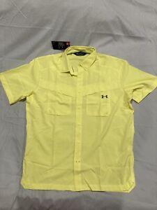 Under Armour Heatgear Fishing Shirt, Size Large, NWT! $49.99