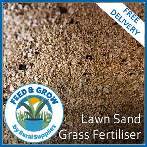 Lawn Sand Grass Fertiliser - HIGH IRON (7%) MOSS CONTROL & GREEN UP 3-0-0