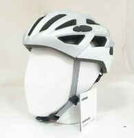Uvex Erwachsene Fahrradhelm race 7, silver mat white, Größe 51-55 cm *NEU*