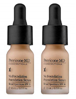Perricone MD No Foundation Foundation Serum, .3 Fl Oz (2 Pack)