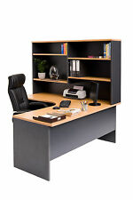 Corner Workstation Desk Hutch Package office desks Home Office Furniture desk