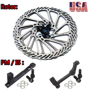 120//140//160//180//203mm MTB Road Bike Bicyle Disc Brake Rotor with 6 Bolts