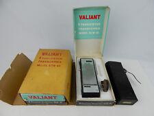 Pair Valiant 9 Transistor transceiver Model STR-61 Hand Held Radios w/ Boxes