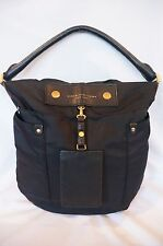 Marc Jacobs Hillier Nylon Hobo Black Handbag