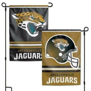 Jacksonville Jaguars Garden Flag 2 Sided Outdoor Window Yard Banner New Man Cave