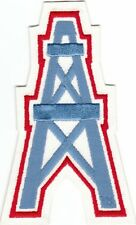 """New listing Vintage 1980s Houston Oilers 5"""" Oil Well Patch Old Logo Throwback sew or iron on"""