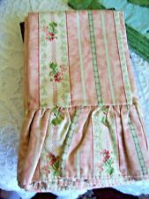Vintage Ralph Lauren LILLIAN 1 Standard Pillowcase Evelyn Chintz Floral Ruffled